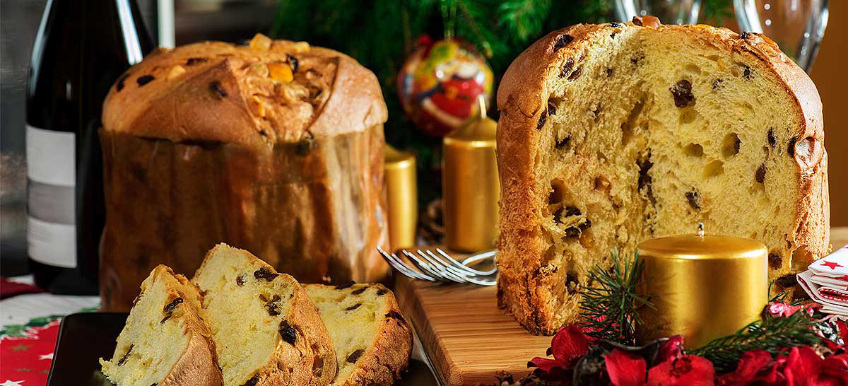 Panettone Christmas sweet
